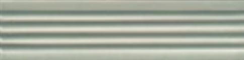 Art Deco tile Reeded Slip 38x152mm Mist