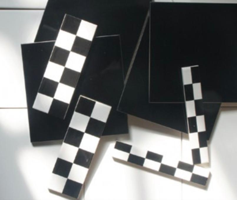 Demo Art Deco Wall Tile Decors Aston Black and White 38x152mm