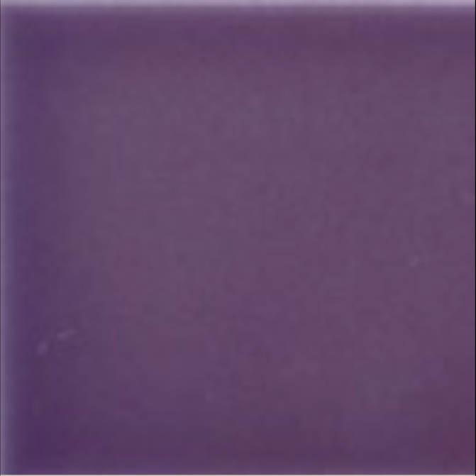 Art Nouveau Plain Field Tile 152x152mm Violet