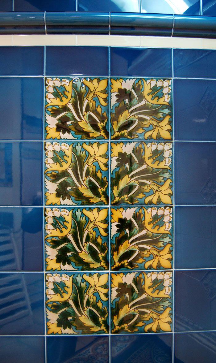 Demo Victorian Maurice decorative tiles 152x152mm