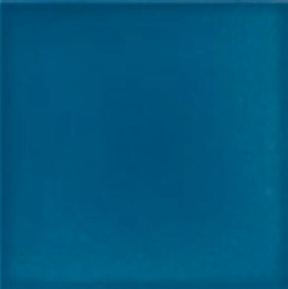 Victorian wall plain field tiles 152x152mm deep blue