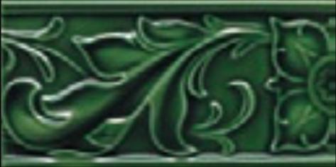Victorian wall Cressage tiles 75x152mm Laurel