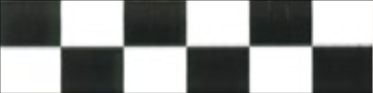 Art Deco tiles Decors Aston Black and White 38x152mm
