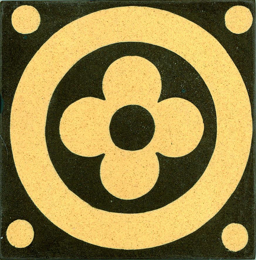 Encaustic Tile 75mmx75mm 3023