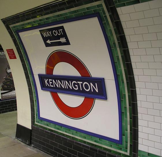 Kennington Station - Northern Line