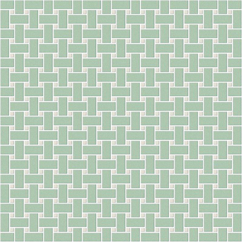 Basket Weave Pattern Pistacchio and Super White.jpg