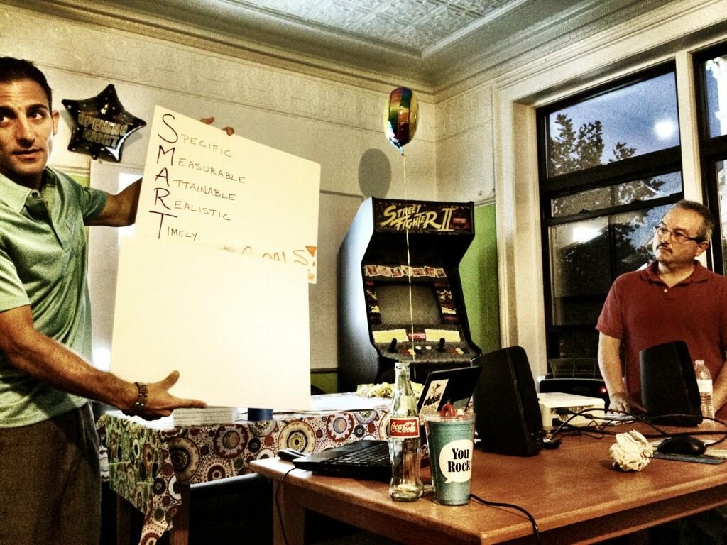 Photo captured at theAlpha Loft in Downtown Portsmouthduring a #UROCKtalk in 2013. I was co-presenting with a former teammate in the advertising field, who I call the Guru of Twitter and good friend, Mr. Don Perkins.