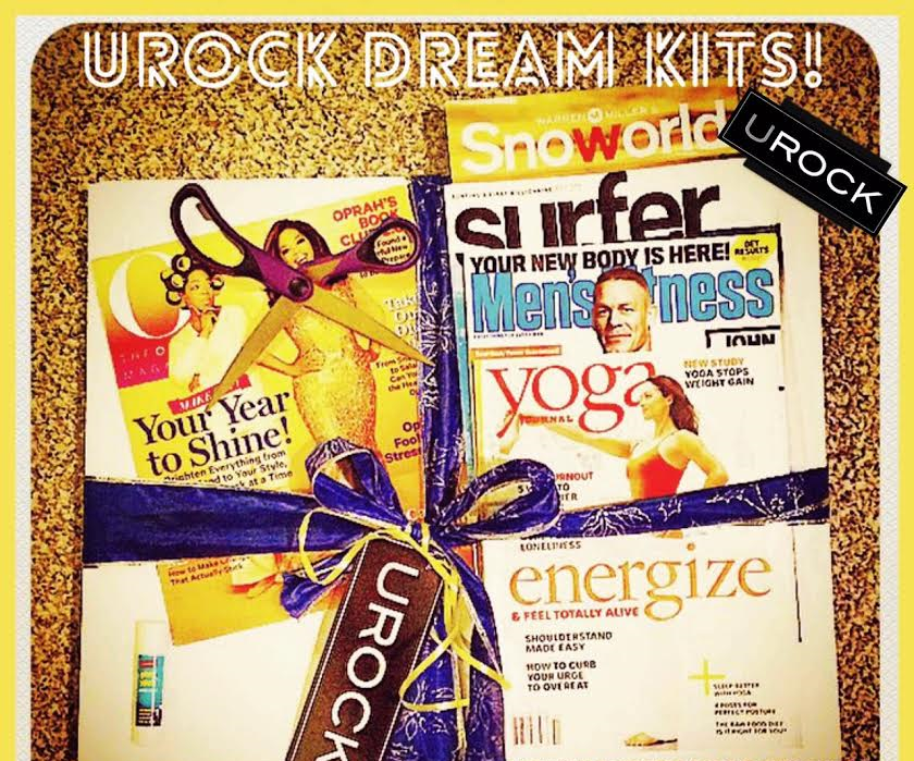 Get your UROCK DREAM KIT delivered to right to you! Your UROCK Dream Kits include (18x20) UROCK Vision Board, up to 8 magazines, glue stick, scissors, personalized note, & a easy quick brief step-by-step tips for constructing your vision board. Contact us today!  UROCK's Chief Igniter, Nick Mirabello | email: nick@urockmarketing.com