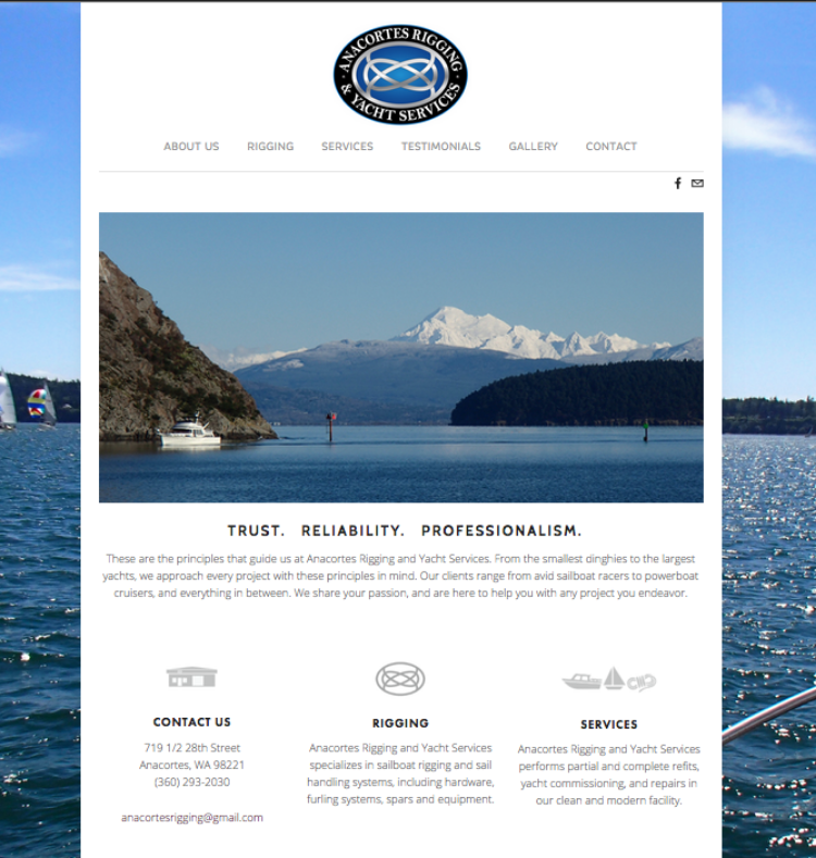 Anacortes Rigging Website 2014