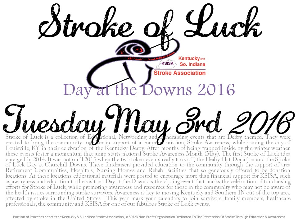 Stroke Of Luck Logo 2016 Downs Ticket Sale Annoucement 1 of 2.jpg
