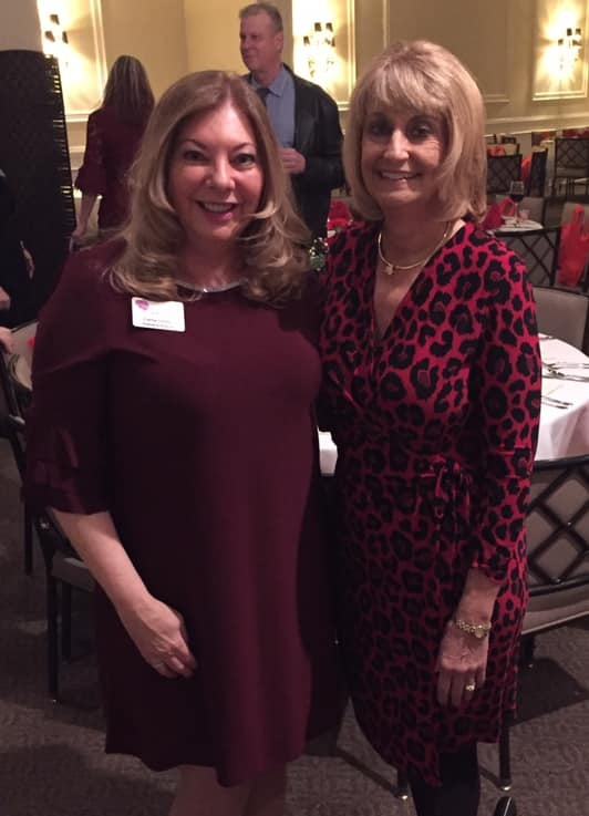 Carrie Orman and Pamela Pearson, our 2019 Heartstrings Honoree