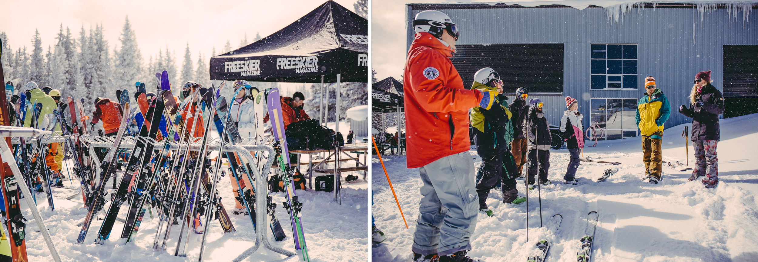 Freeskier Magazine Ski Test