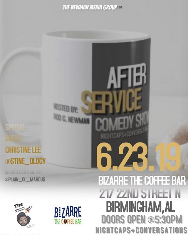 What are you doing after service👉🏾 Sunday June 23rd? COME to the #AfterService #nightcapsandconversations TAOMN🚀™️
