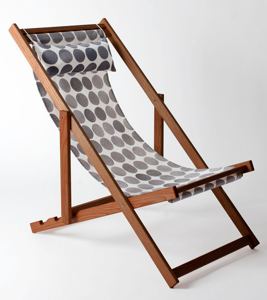 Gallant & Jones  is a resource to know about as you pull together your garden look. Based in Vancouver, they have a particularly excellent line of sling back chairs, which are not only great for flexibility in a garden , but many a beach visitin your future.  Price: $389