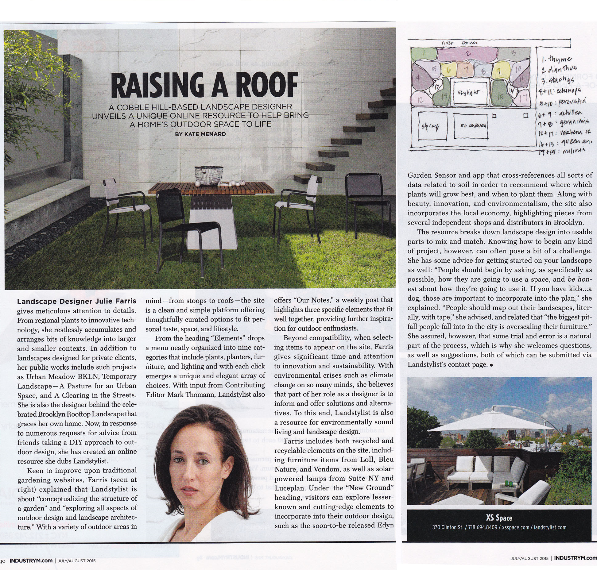 Brooklyn Industry Magazine July/August 2015 Issue  View Article here