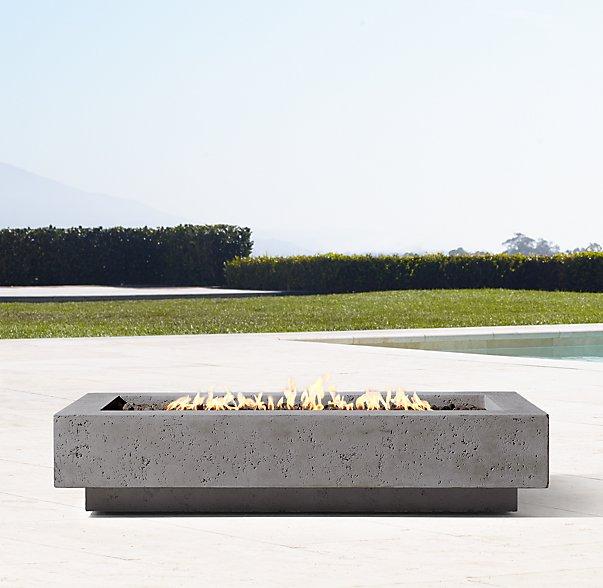 Fire table   Restoration Hardware $3750.00