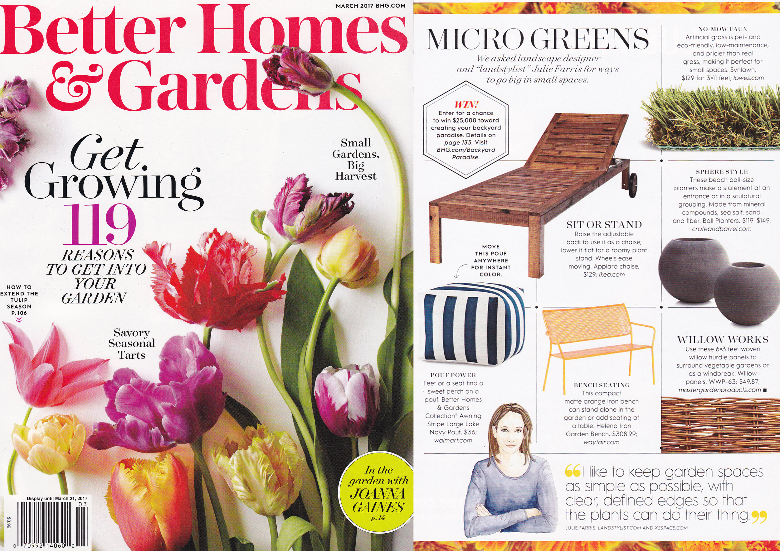 Better Homes&Gardens  March 2017