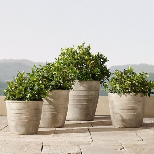 ADAMO PLANTER  RESTORATION HARDWARE