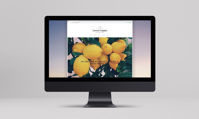 website desktop view - homepage image