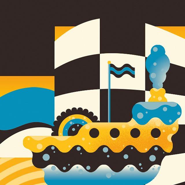 A bit more of that boat from my book, Journey Inwards.  #illustrate #illustration #vector #vectorillustration #vectorart #graphicdesign #digitalart #digitalartist #adobeillustrator #adobephotoshop #illustrator #vectorart #digitalillustration #artistsoninstagram #instaart #ibstaartist #illustratorsoninstagram #creatives #art #childrensbooks #childrensbookillustration