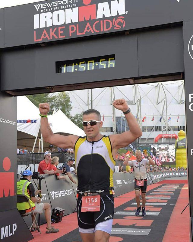 Big congrats to Dan Callahan on completing his first Ironman! . . #ironman #triathlon #tri #ironmantri #ironmantriathlon #lakeplacid