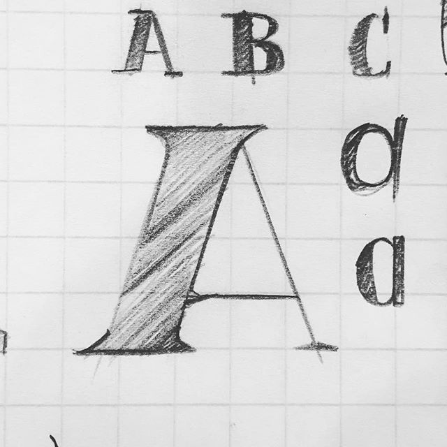 And why not.  #36daysoftype #letter_a #lettering #pencilsketch #process #design #36days_a #letterarchive_a #handtype #handdrawntype #36daysoftype2019 #typematters #typedesign #handmadefont