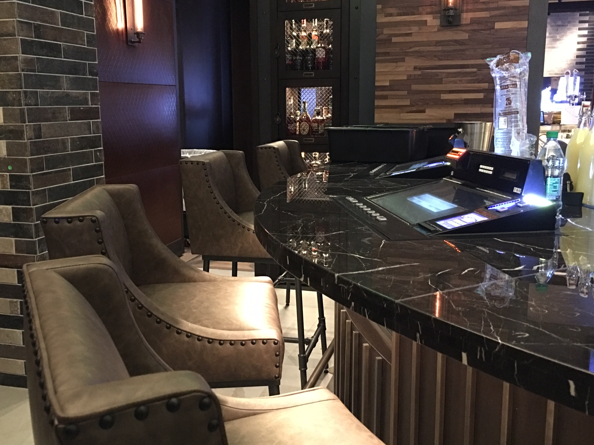 Bar stools @ Montecristo Cigar Bar Las Vegas