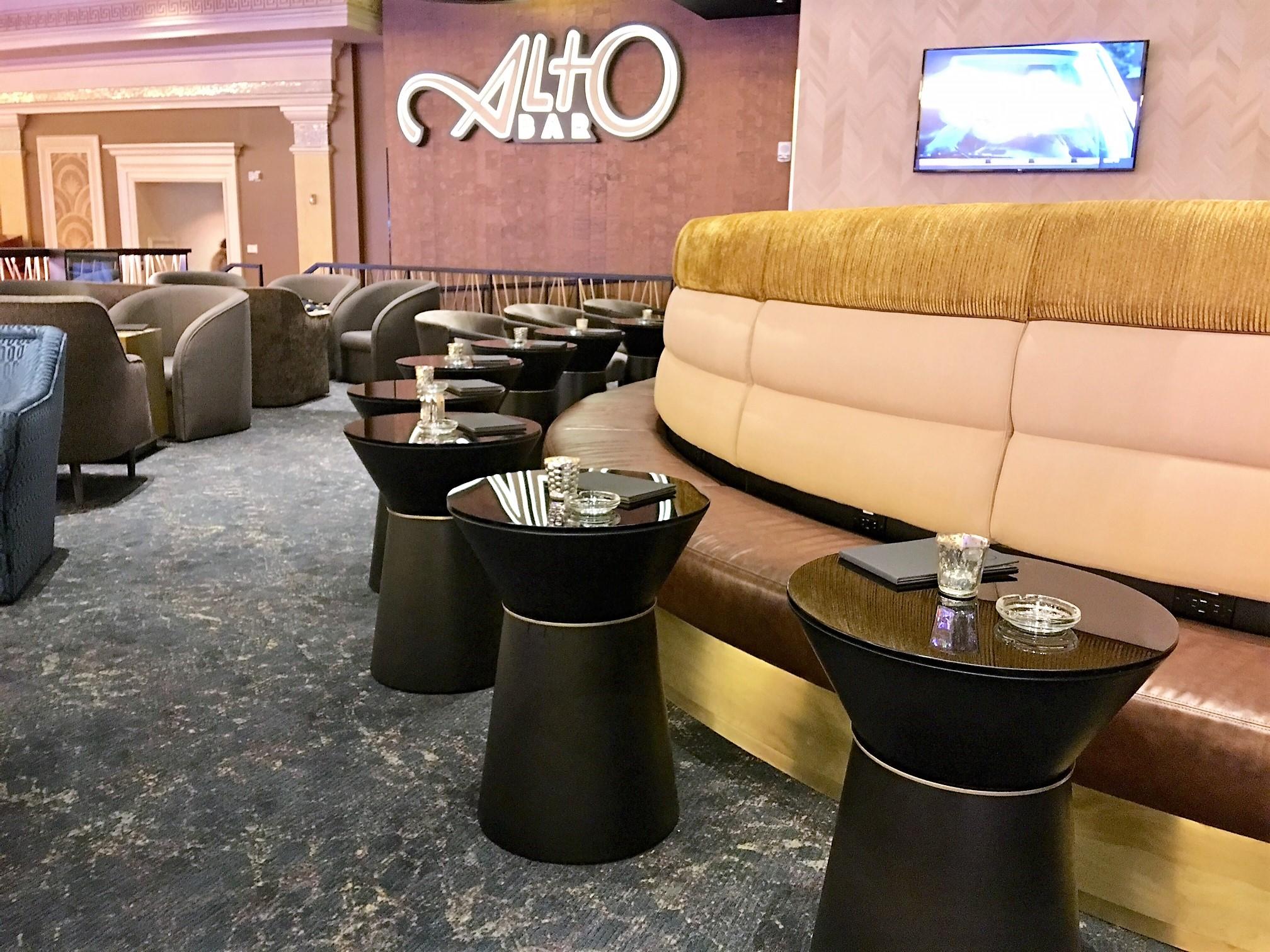 Alto Bar Tables @ Caesars Palace, Las Vegas