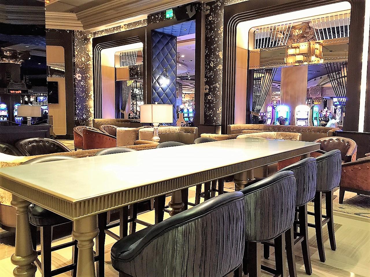 Zinc Top Table @ Vista Cocktail Lounge, Las Vegas