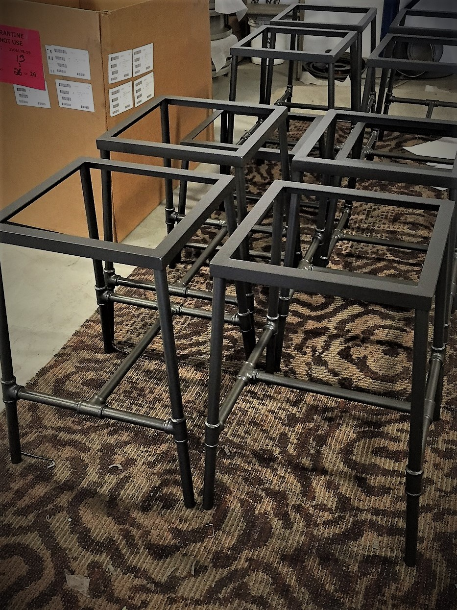 Power Coated Tables
