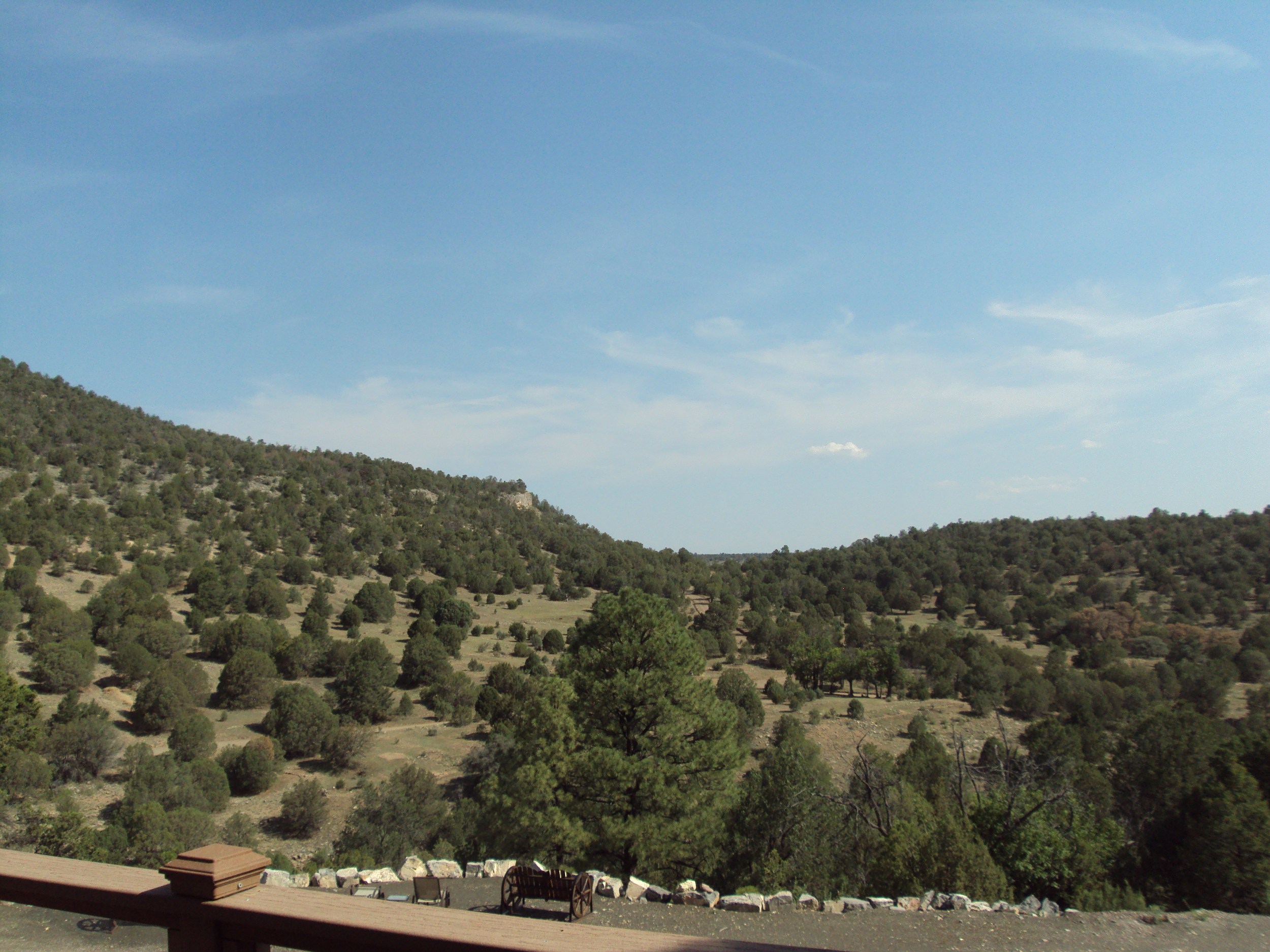 View from Lindauer balcony