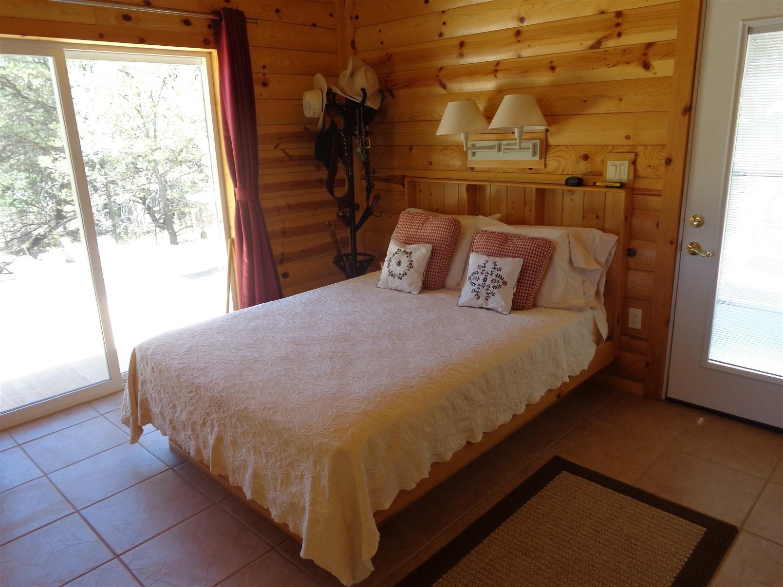 Bedroom in spring/summer