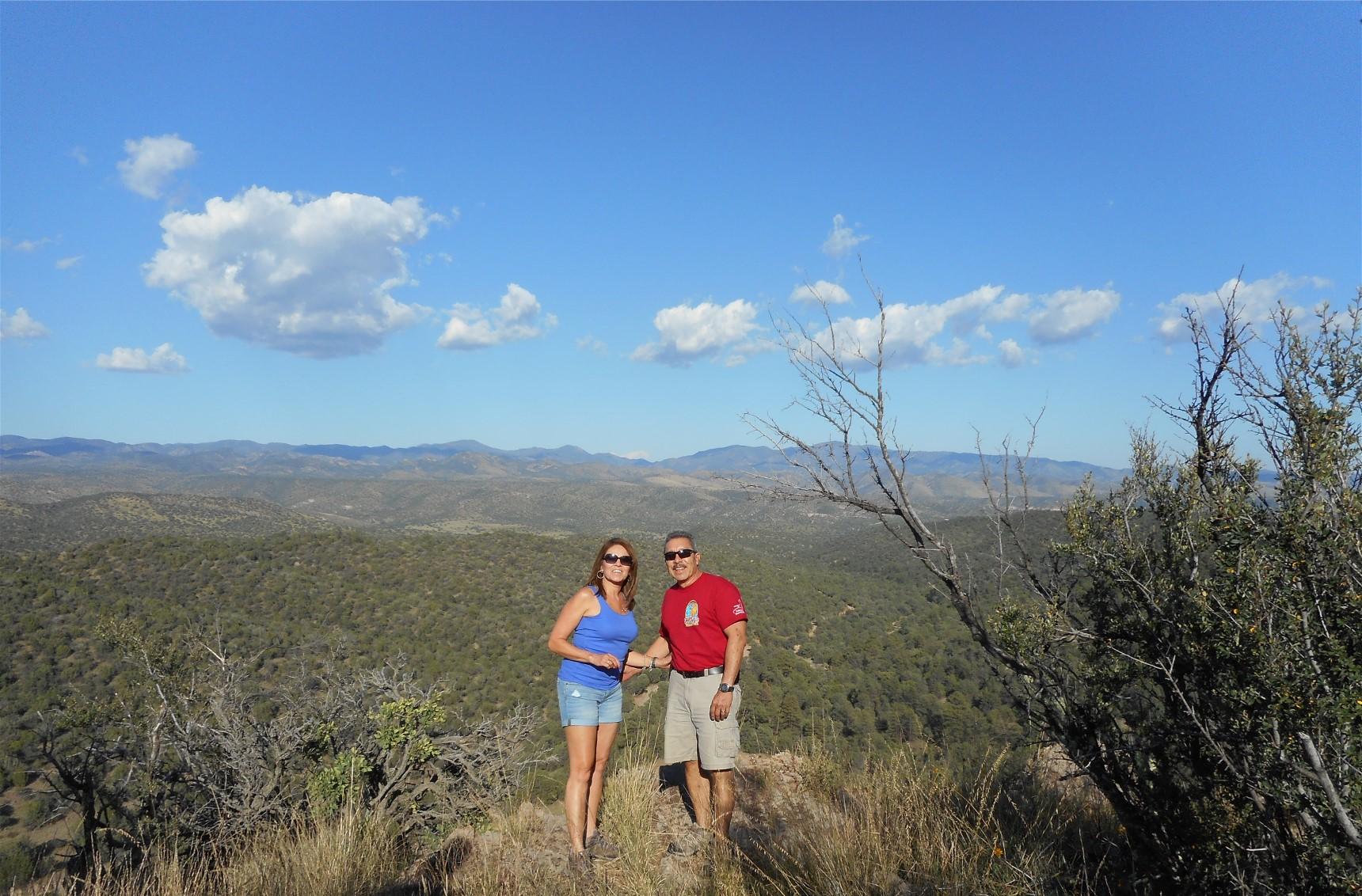 Hiking Georgetown Canyon