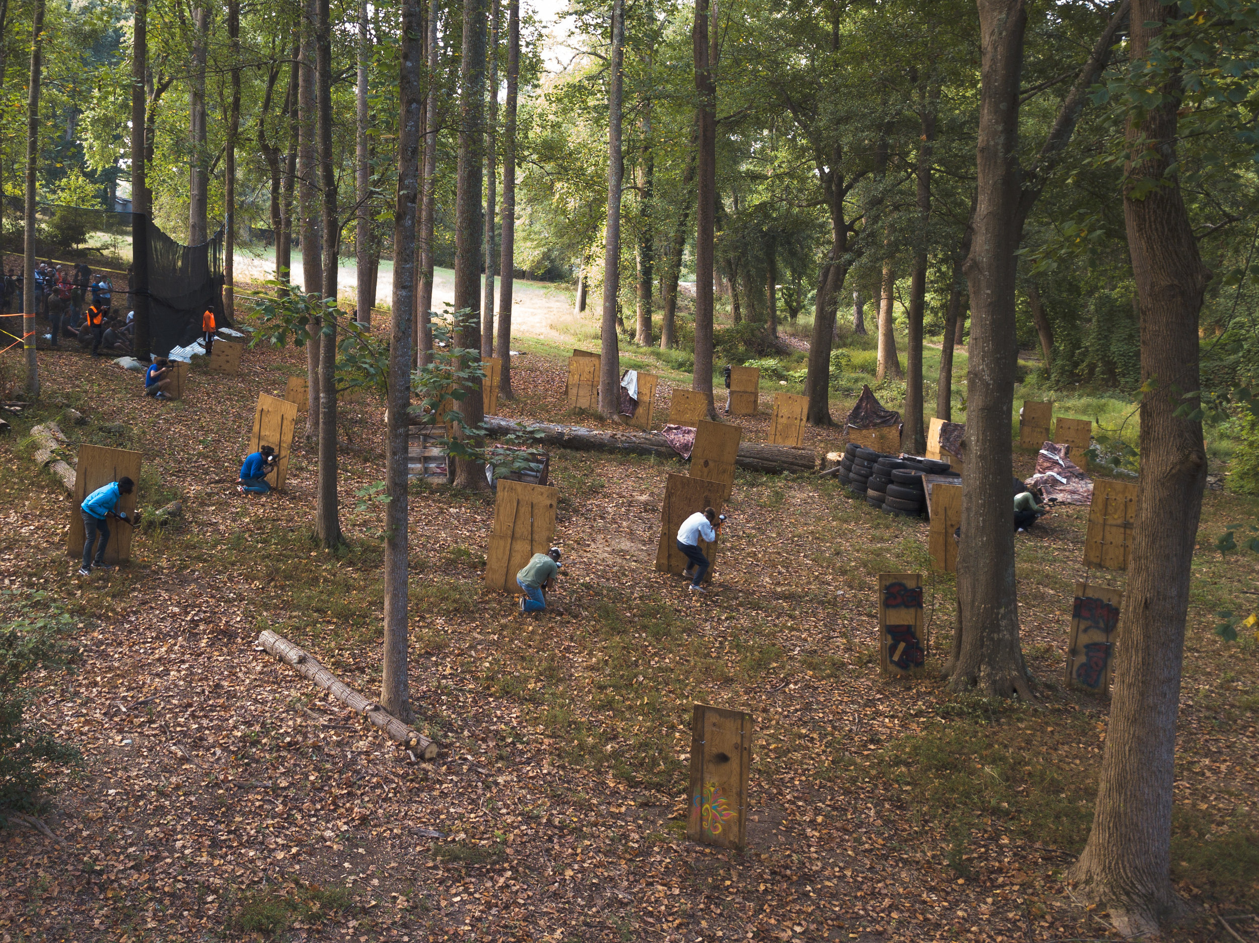 Varken Wars '19 : Day 2 - The day of paintball!Photos by Reid McCandless