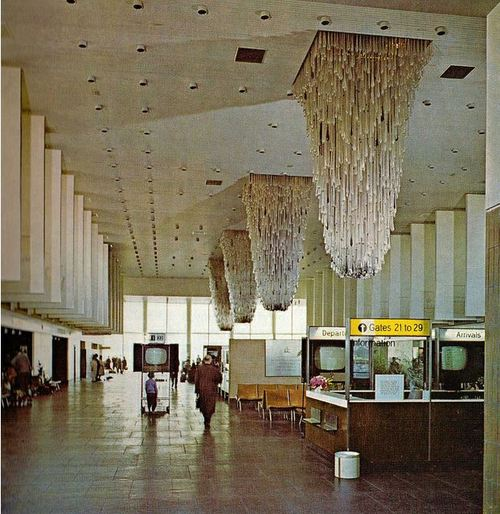 Manchester Airport Chandeliers