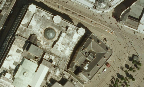 Aerial view from Google