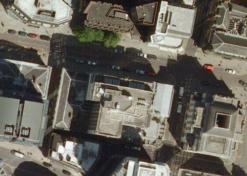 aerial king street