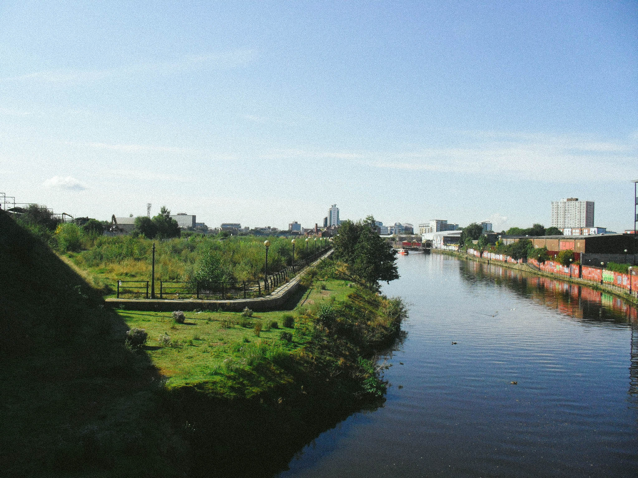 The section known as Ordsall Beach