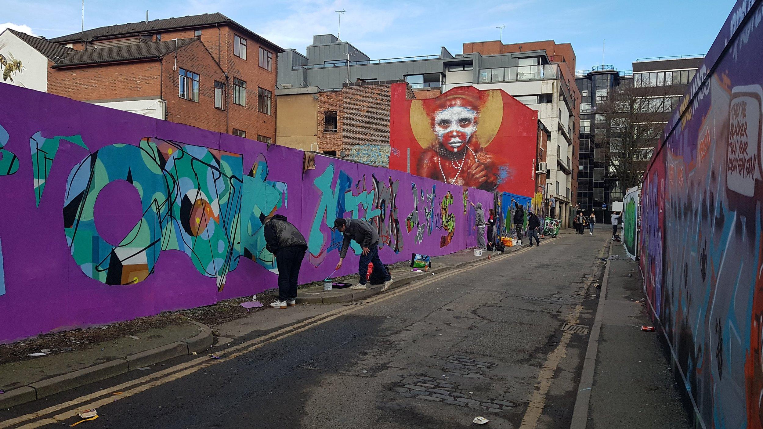 graffiti spear street