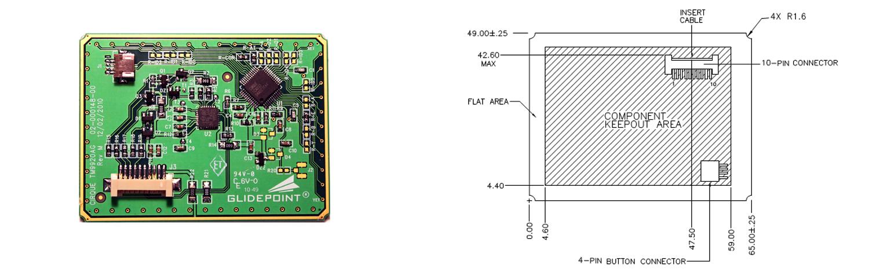 TM9920 Sensor and dimensions