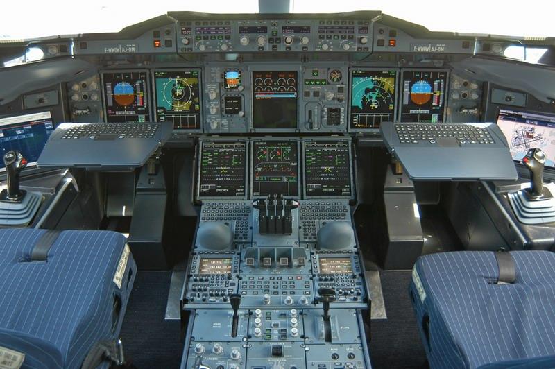 Airliner Flight Deck