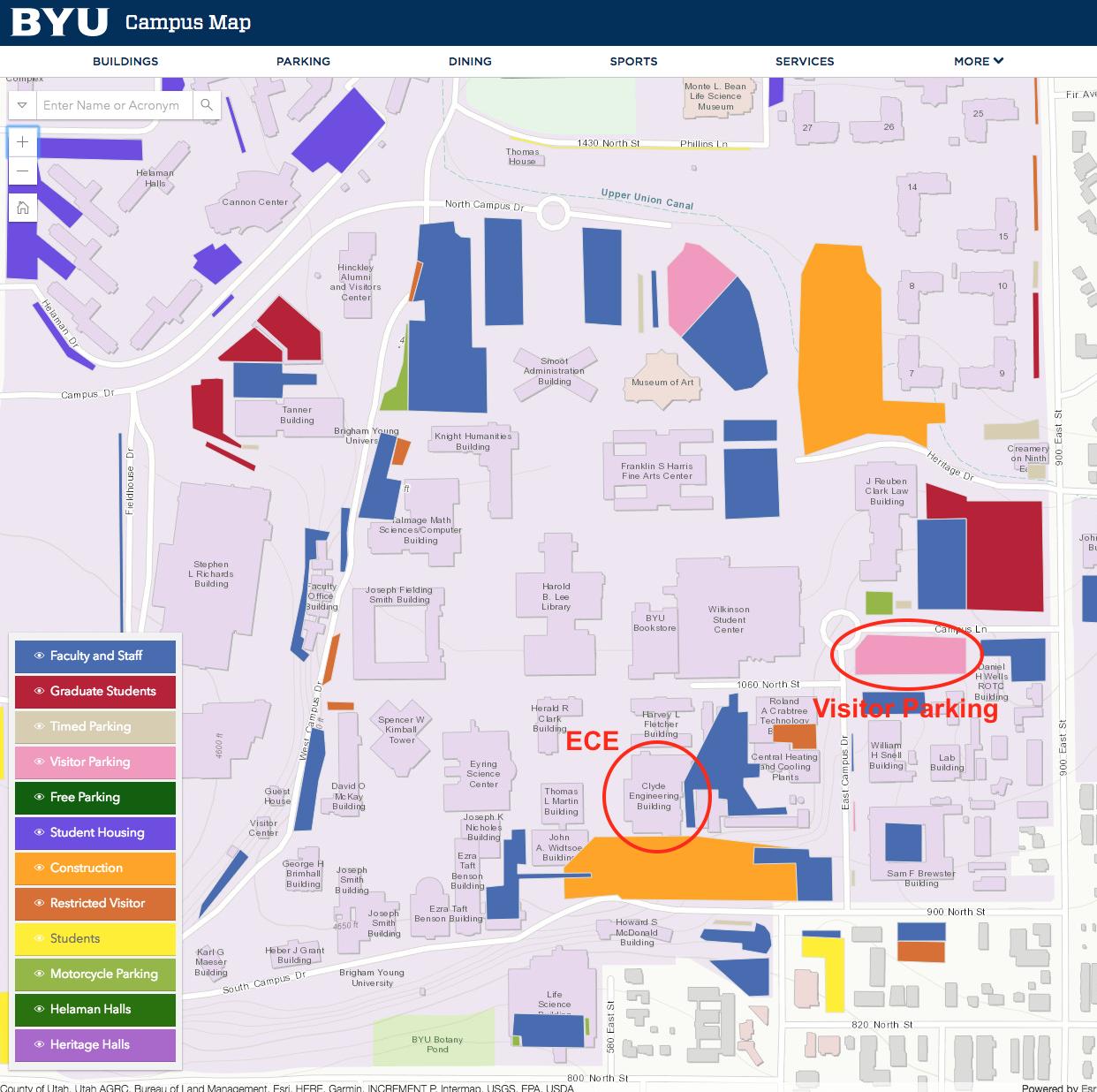 byu map of campus Byu Ic Innovation Seminar With Cirque Cirque Corporation byu map of campus