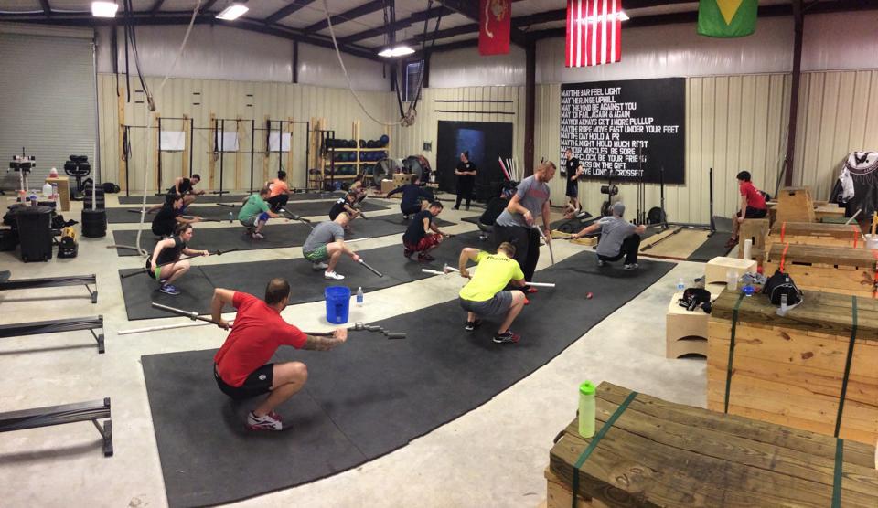Mobility portion of the seminar in Laurel, Mississippi. Photo credit: Derek Richards