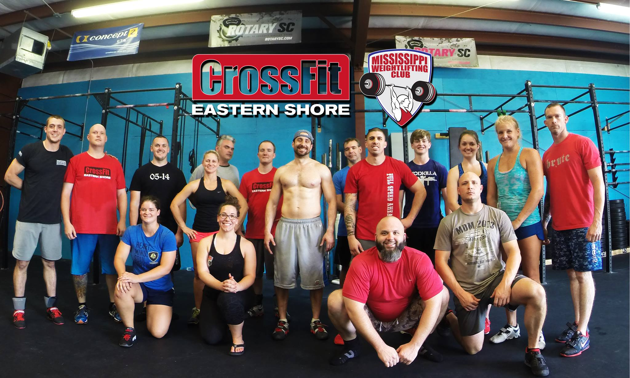 Mississippi Barbell's first out of state seminar at CrossFit Eastern Shore in Alabama. Photo credit: Tyler Smith
