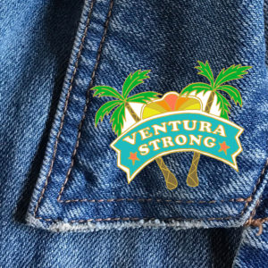 #VenturaStrong enamel pin $10 (click image to visit website)