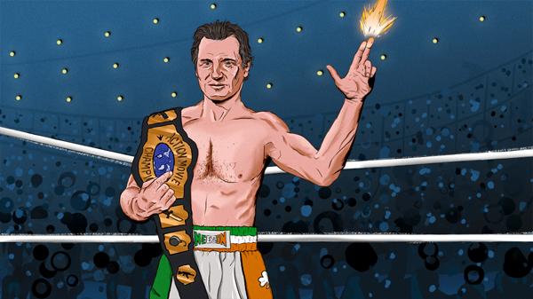Liam Neeson for Grantland