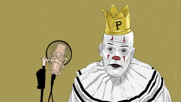 Puddles the Clown for Grantland