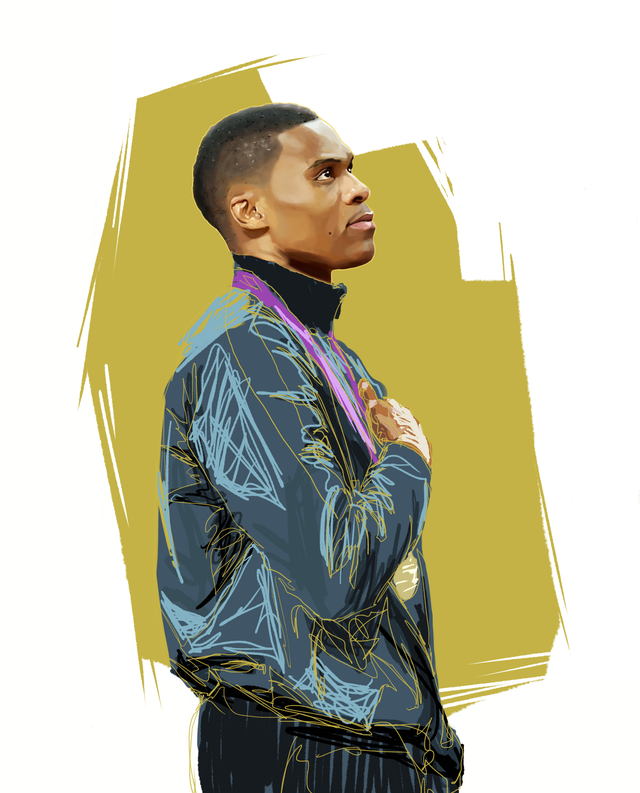 Russell Westbrook wins Gold medal