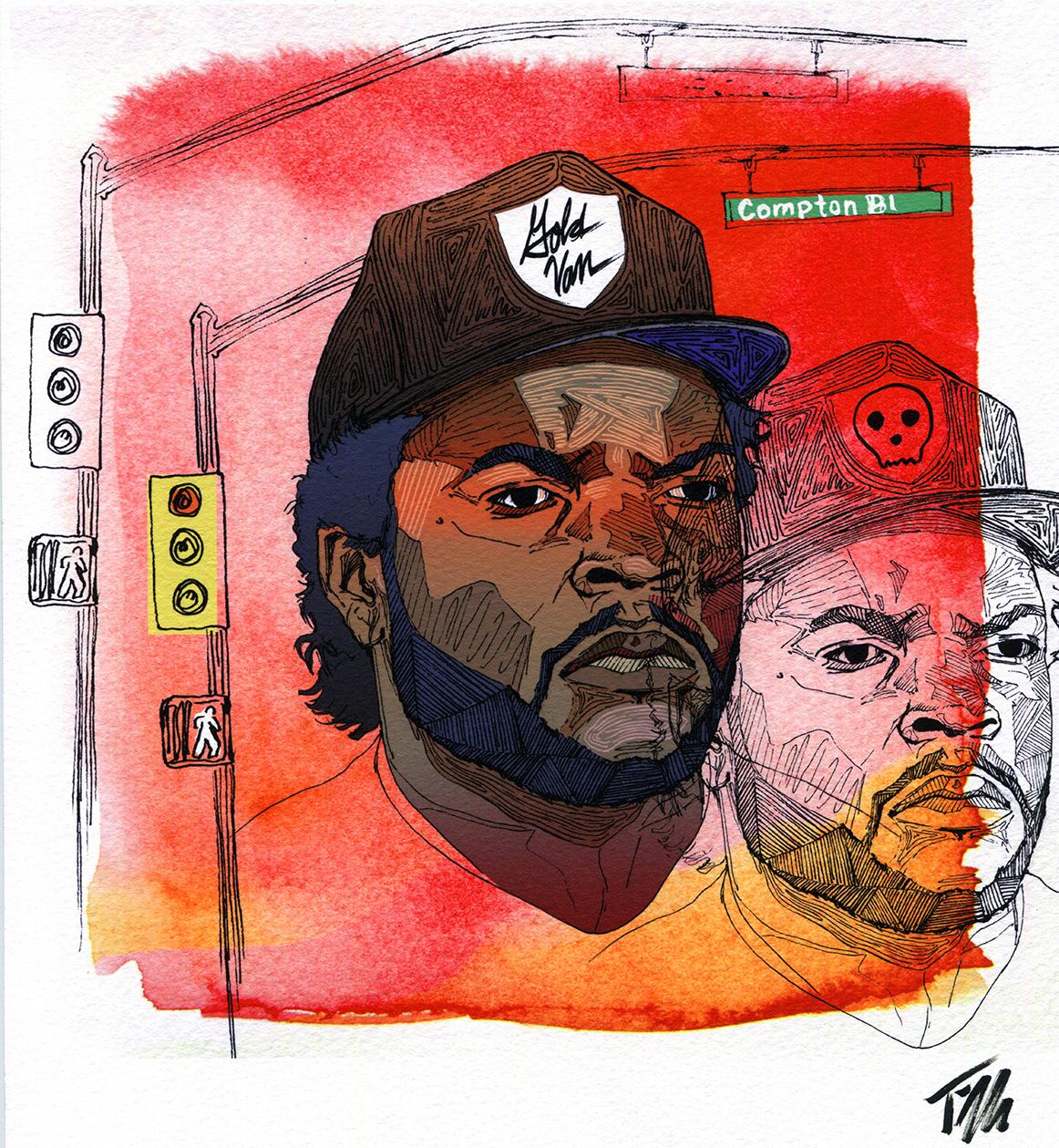 Ice Cube Portrait