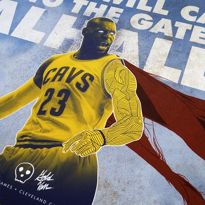 Poetry of Basketball - LeBron James